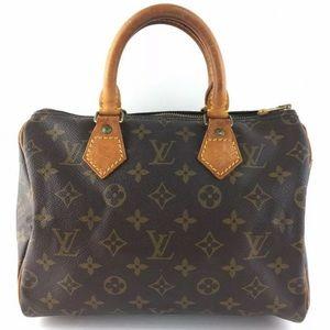 🥰Authentic Louis Vuitton Speedy 25 Hand Bag Purse
